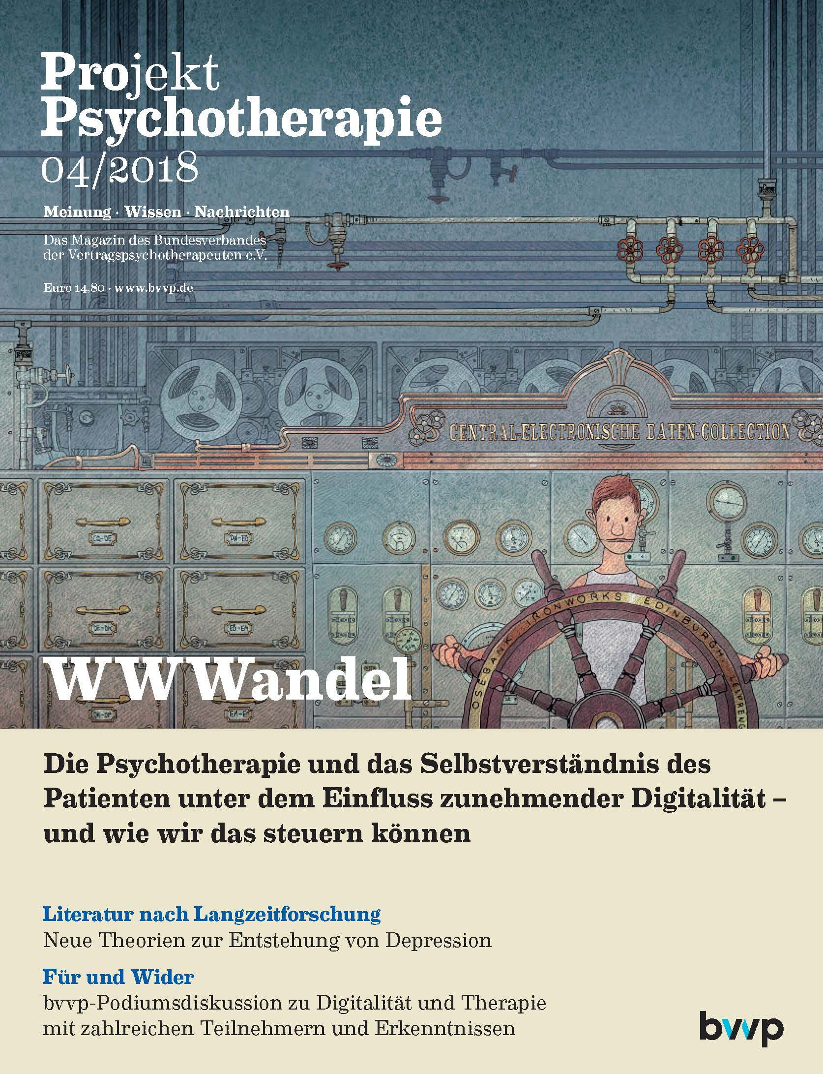 Projekt Psychotherapie 04/2018