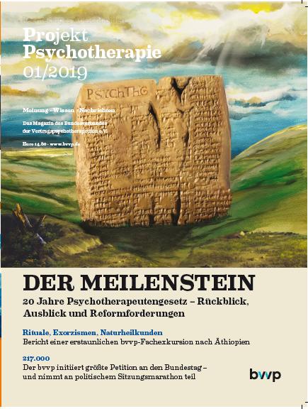 Projekt Psychotherapie 01/2019