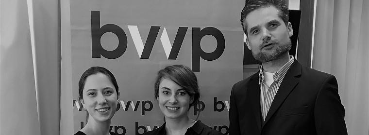 Der bvvp hat 3 Vorstandsbeauftragte des Jungen Forum berufen